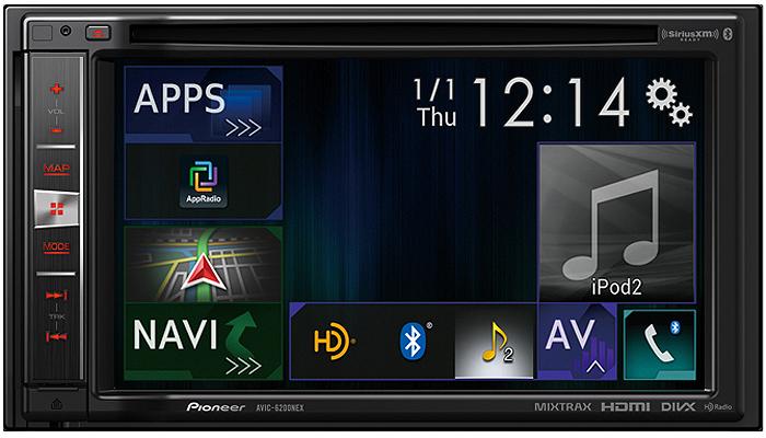 "Pioneer In-Dash 6.2"" Navigation AV Receiver"