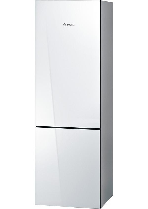 "Bosch 800 Series 24"" White Counter Depth Bottom Freezer R..."
