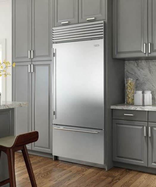 Sub Zero Bottom Freezer Refrigerator Bi36uidsthrh