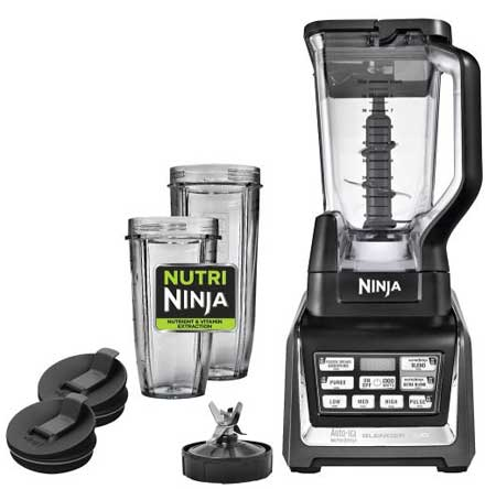 Ninja Nutri Ninja Black Blender Duo With Auto iQ