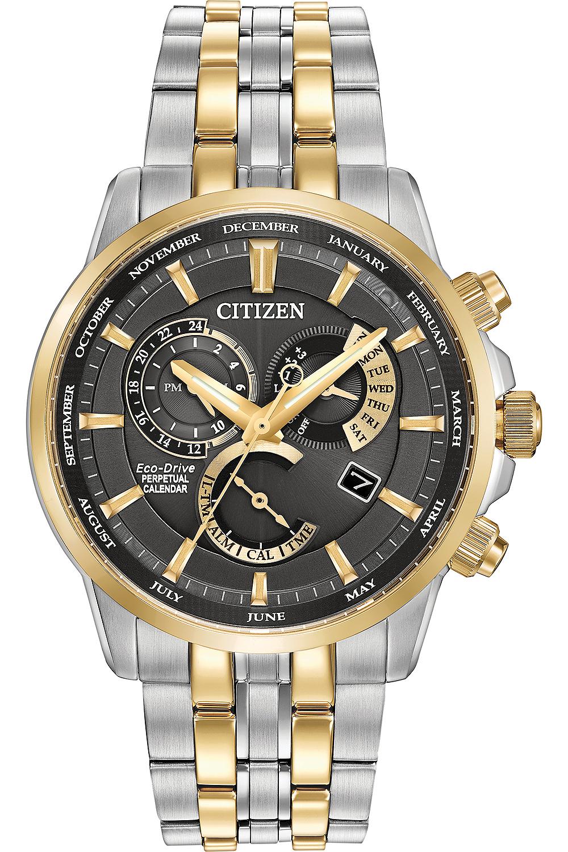 Citizen Eco Drive Calibre 8700 Mens Watch Bl8144 54h