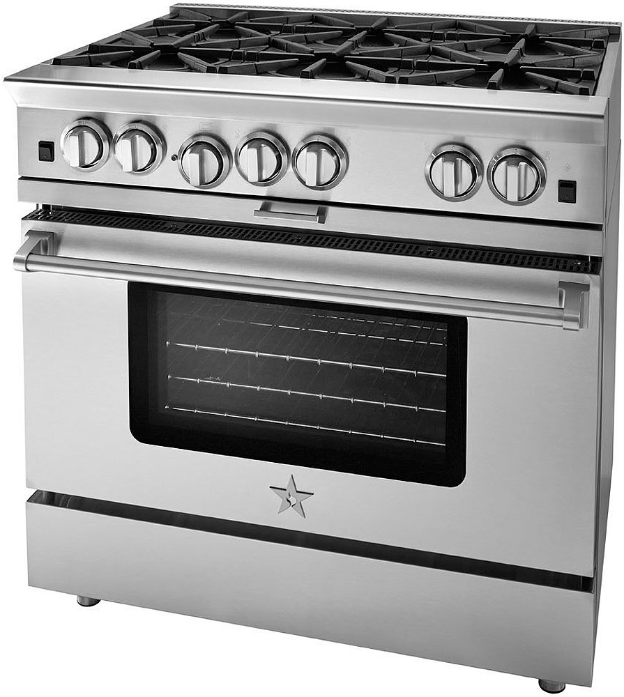 "BlueStar 36"" Platinum Series Stainless Steel Freestanding..."