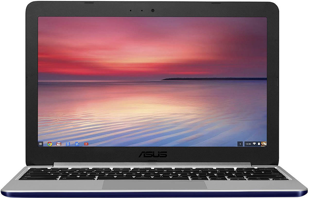 Asus Chromebook C201 Navy Blue Laptop Computer