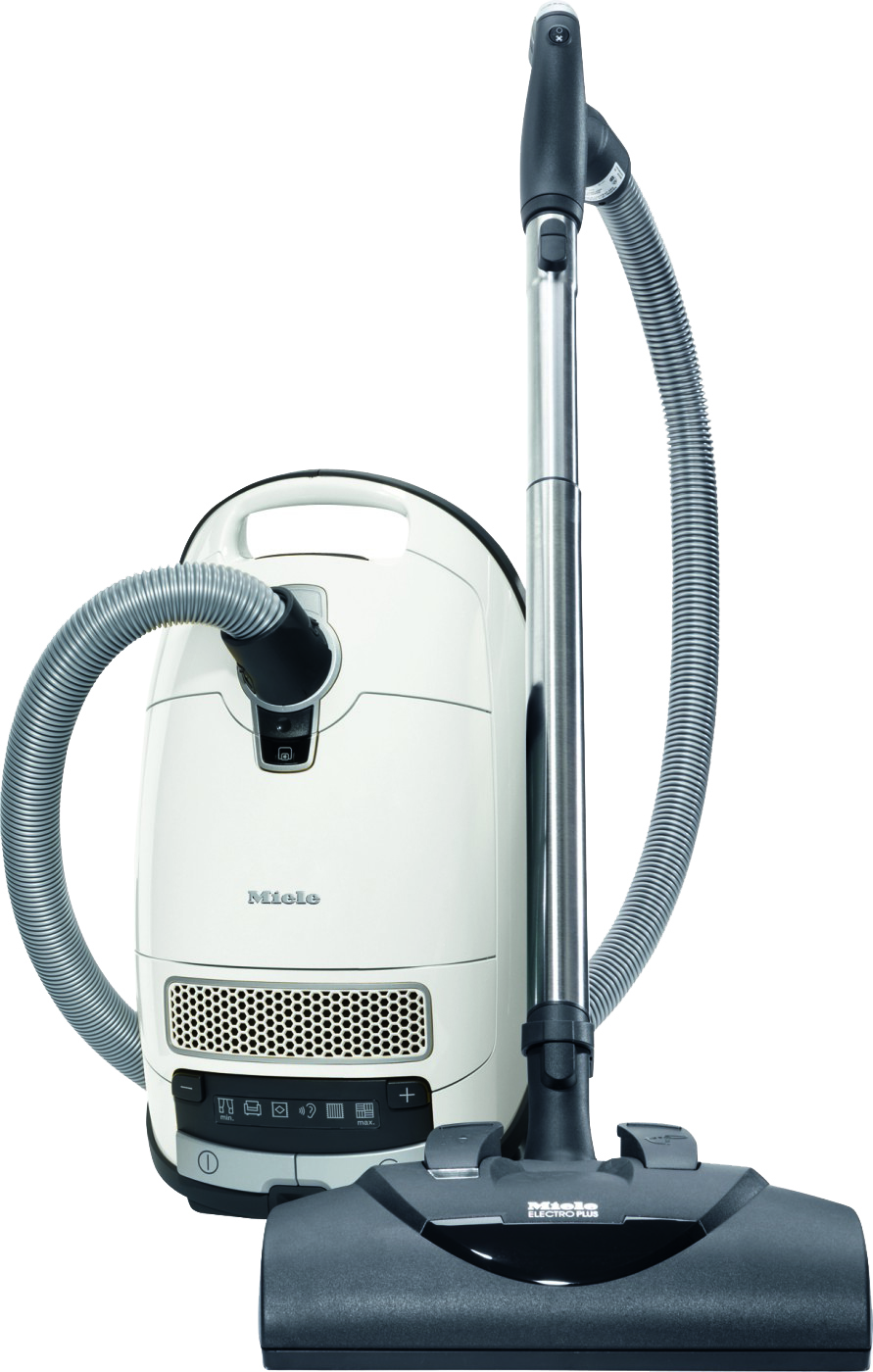 Miele Complete C3 Cat & Dog White Canister Vacuum