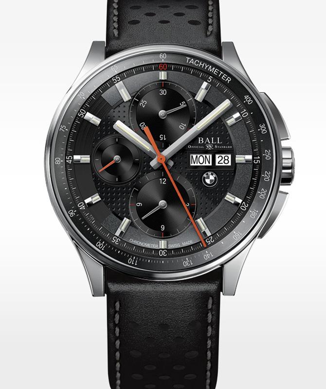 Ball BMW Chronograph Black Mens Watch