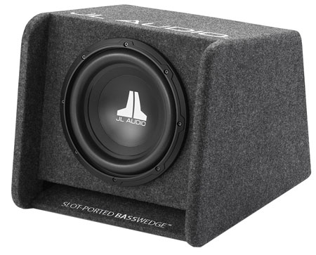 "JL AUDIO 10"" BassWedge Subwoofer Gray"