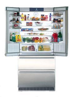 Liebherr Counter Depth Stainless Bottom-Freezer Refrigerator