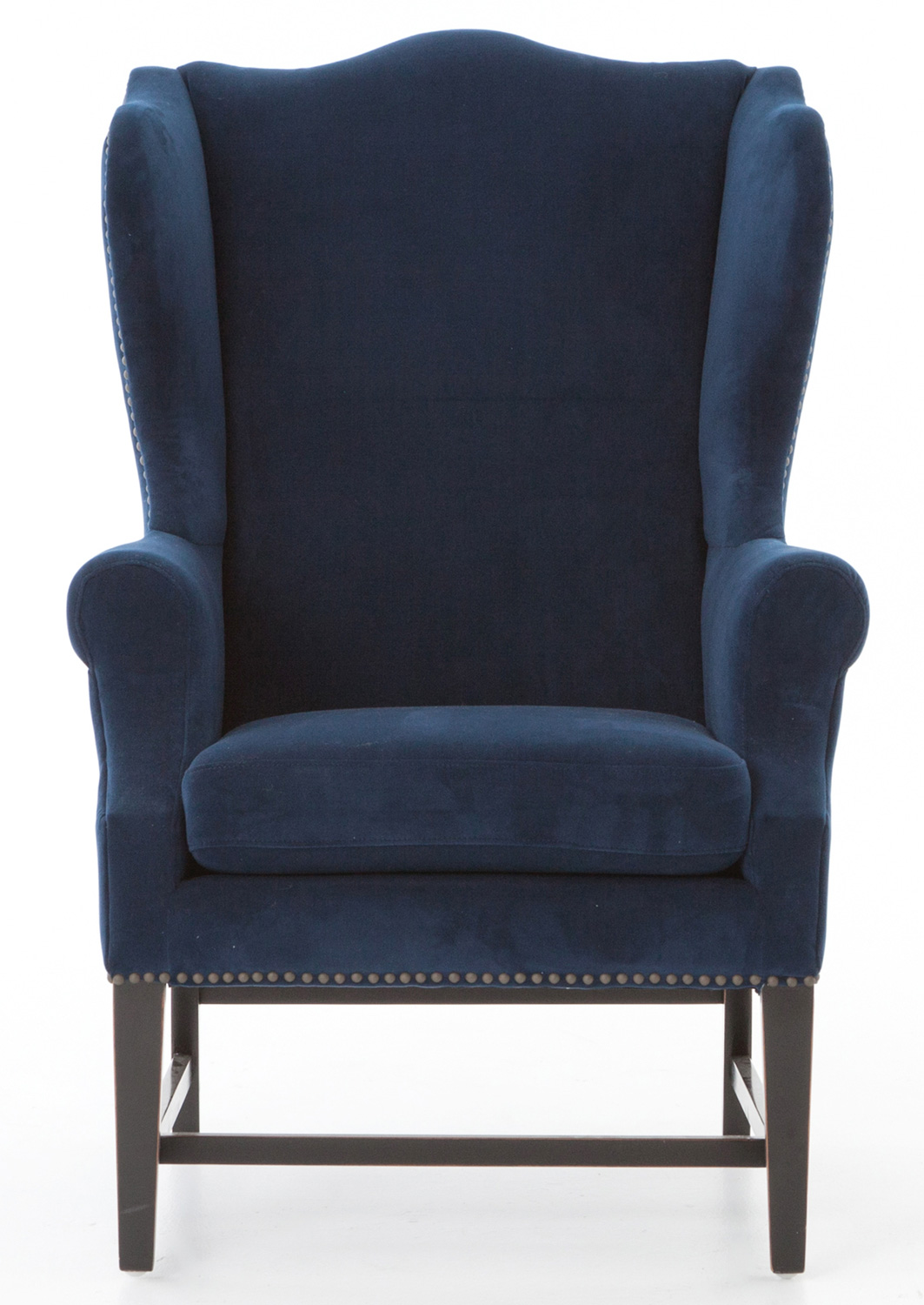 Four Hands Theory New Navy Wing Chair Csd 0026