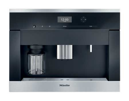 miele 24 plumbed built in coffee system cva6405ss. Black Bedroom Furniture Sets. Home Design Ideas