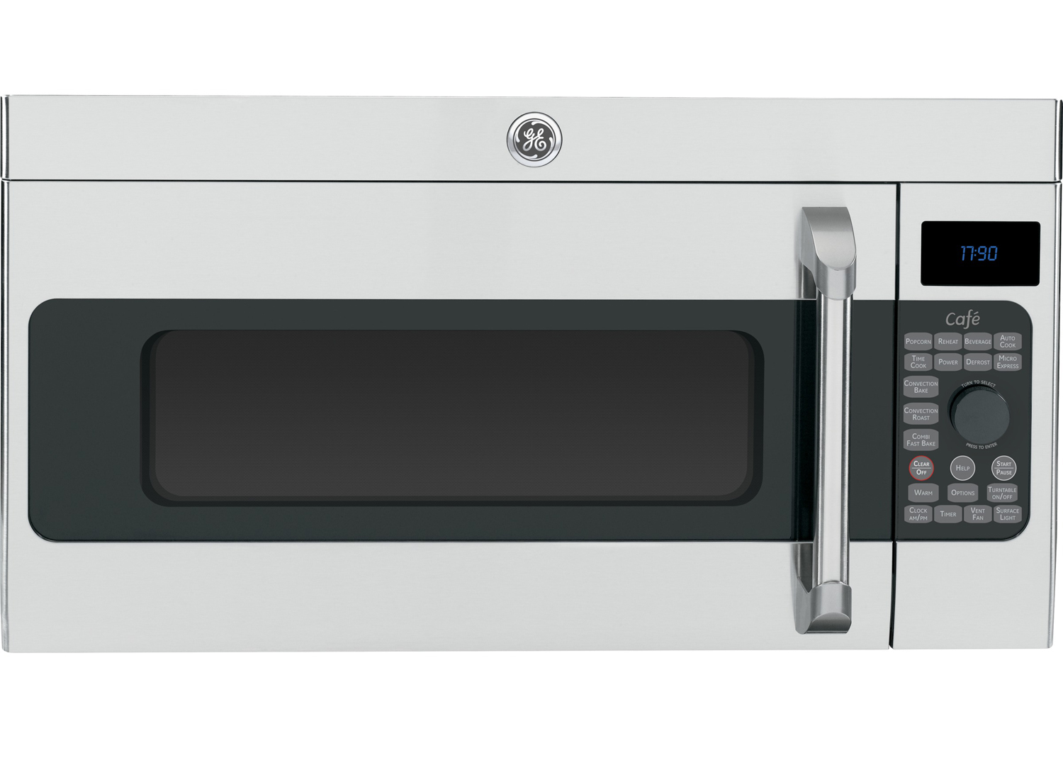 GE Cafe Stainless Steel Over-The-Range Microwave Oven