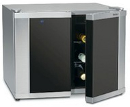 Cuisinart Dual Zone Silver And Black Wine Cellar - CWC1200DZ
