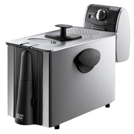 DeLonghi Stainless 3 Lb. Dual Zone Deep Fryer