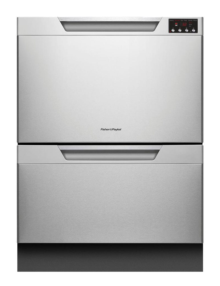 Fisher & Paykel Stainless Steel Double Drawer Dishwasher