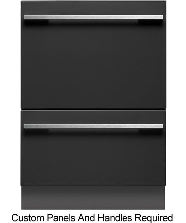 Fisher & Paykel Panel Tall Double Built-In DishDrawer