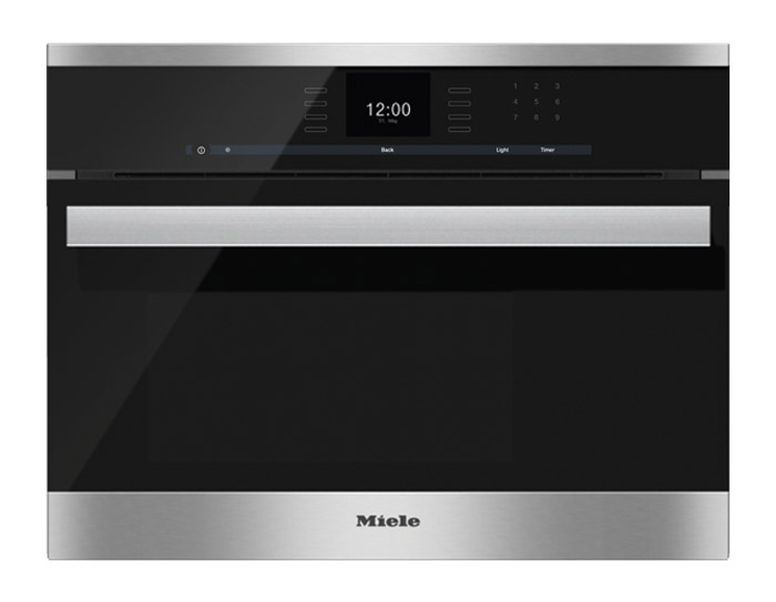 "Miele 24"" DG 6600 PureLine Built-In Stainless Steel Steam..."