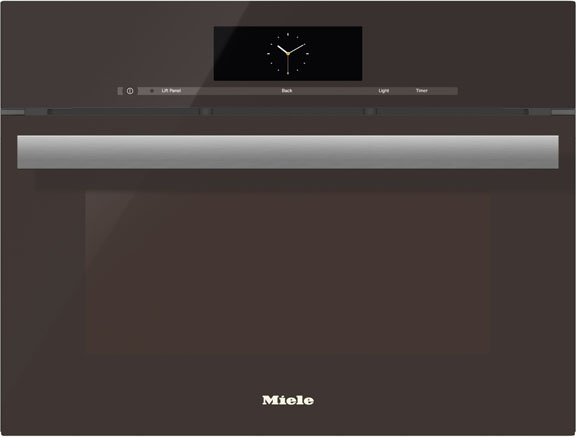 "Miele 24"" Truffle Brown PureLine M Touch Combi-Steam Oven"