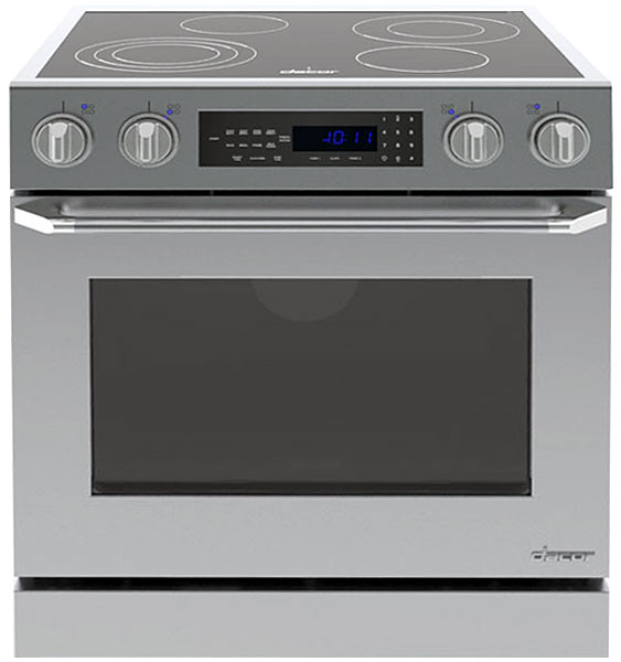 Dacor Distinctive 30 Stainless Steel Slide In Electric Range