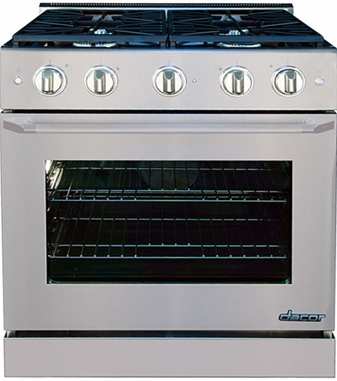 Dacor Distinctive Stainless Slide-In Gas Range