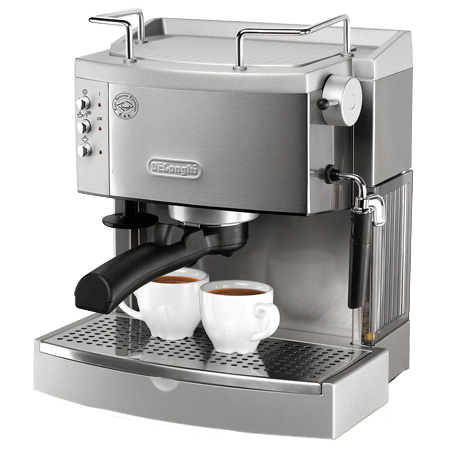 DeLonghi Stainless Espresso/Cappuccino Maker