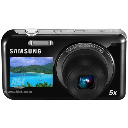 Samsung PL120 DualView Black 14.2 Megapixel Digital Camera - PL120