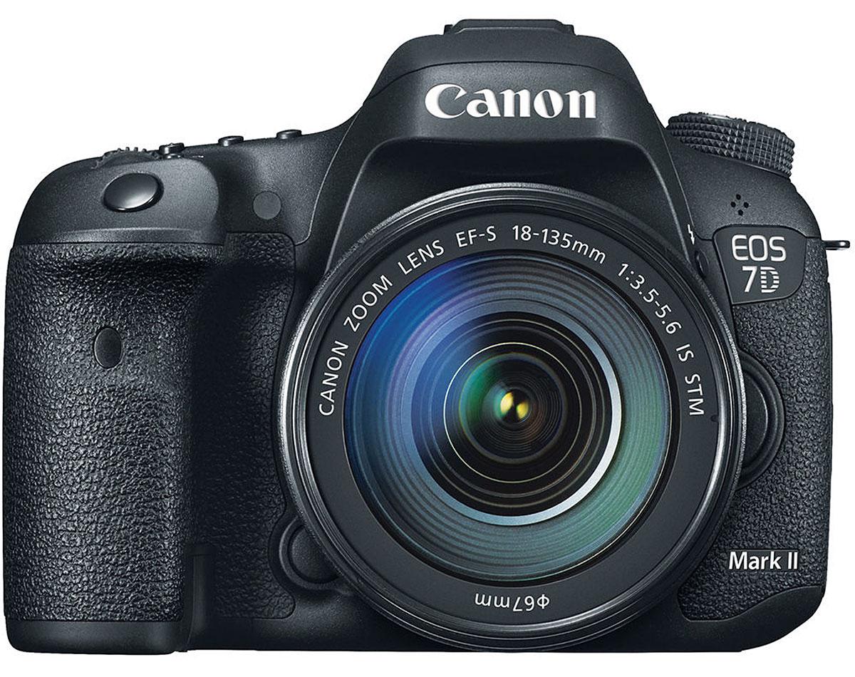 Canon EOS 7D Mark II Digital SLR Camera With 18-135mm Lens