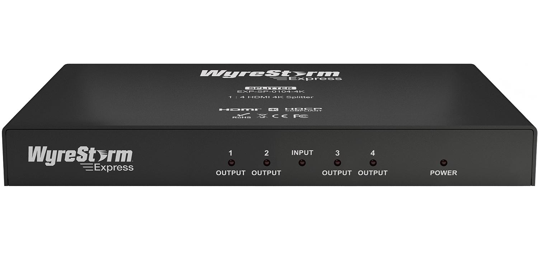 WyreStorm Express 1x4 HDMI 4K Splitter