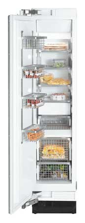 """Miele 18"""" Fully Integrated Stainless Steel All Freezer"""