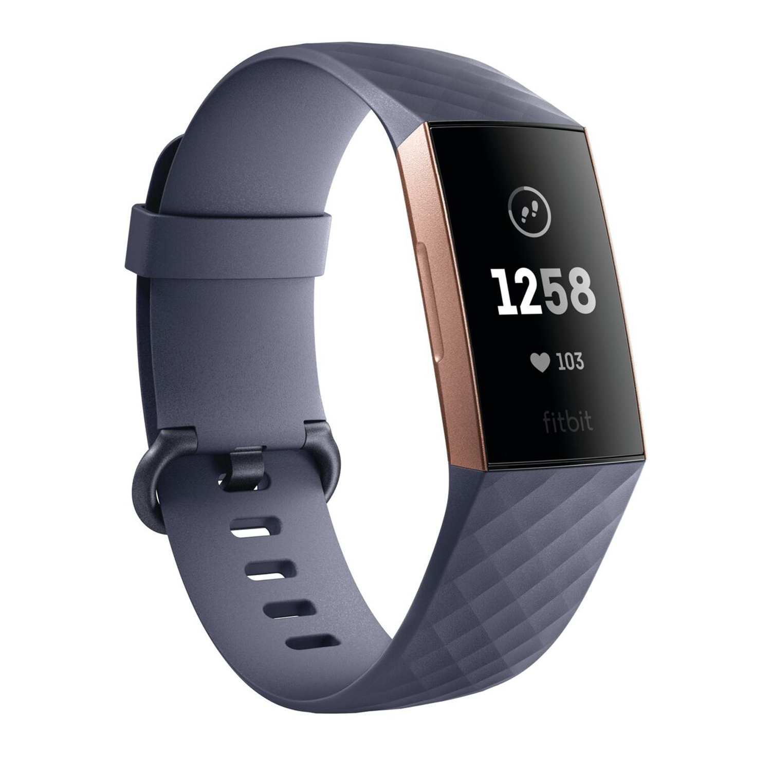 Fitbit Charge 3 Blue Gray Advanced Fitness Tracker
