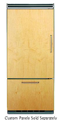 "Viking 36"" Custom Panel Bottom Freezer Refrigerator"