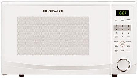 Frigidaire White Countertop Microwave