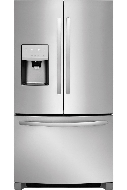 Frigidaire stainless french refrigerator ffhb2750ts rubansaba