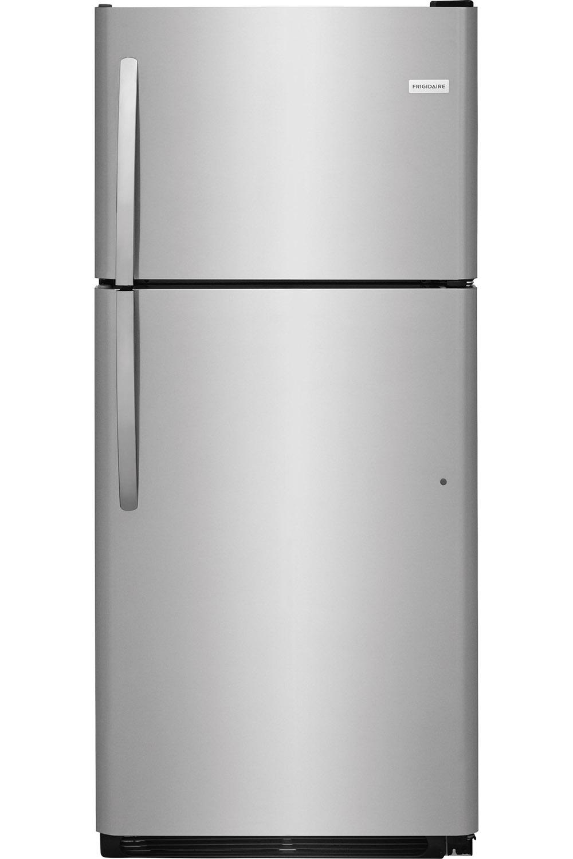 frigidaire stainless steel top freezer ffht2032ts. Black Bedroom Furniture Sets. Home Design Ideas