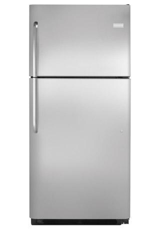 Frigidaire 20.5 Cu. Ft. Stainless Steel Top Freezer Refri...