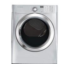 Frigidaire Silver  Gas Steam Dryer