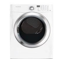 Frigidaire White Gas Steam Dryer