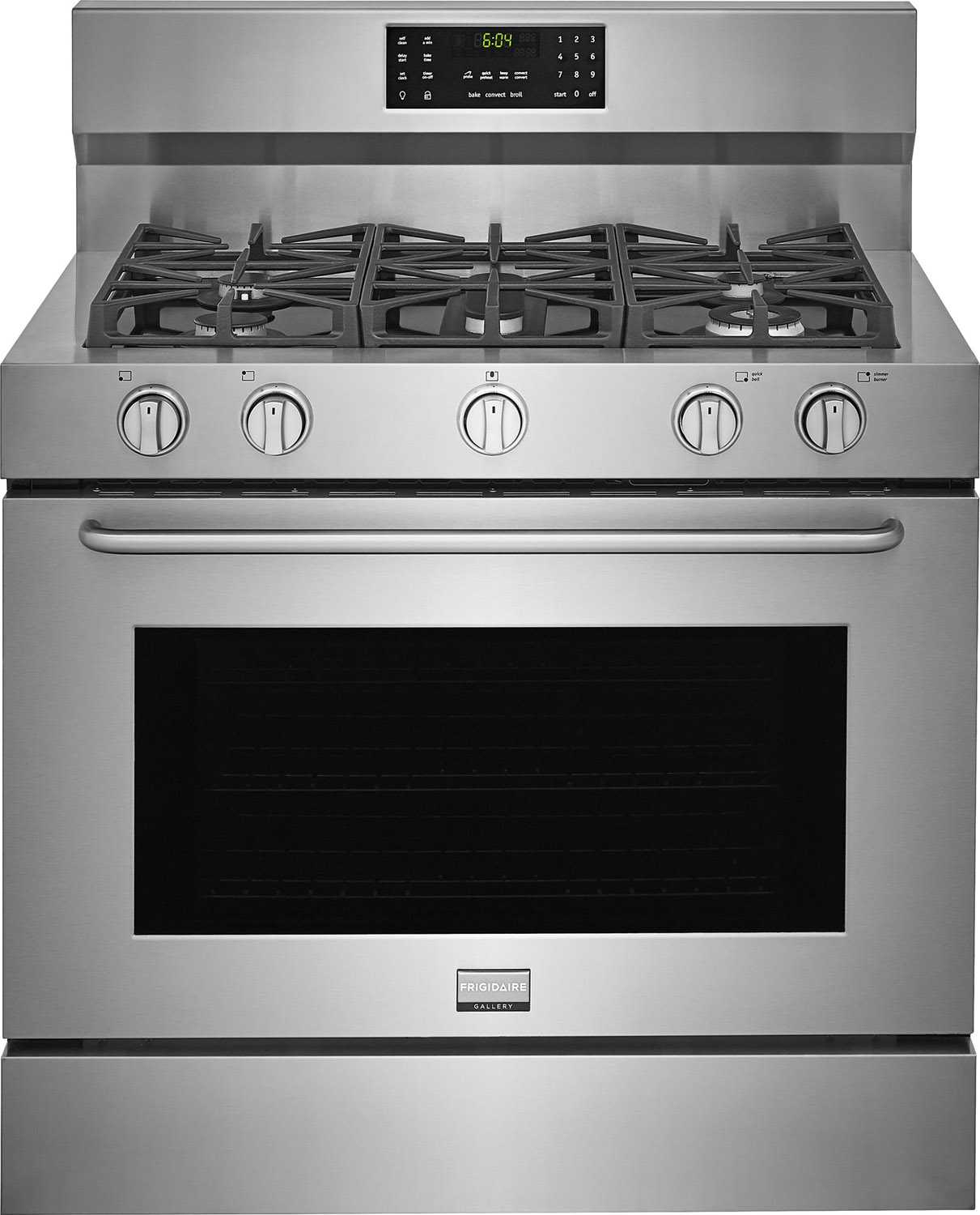 Frigidaire Gallery Stainless Dual Fuel Range Fgdf4085ts
