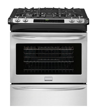 "Frigidaire Gallery 30"" Stainless Steel Slide-In Gas Range"