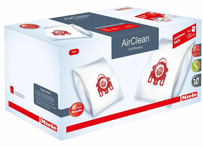 Miele Airclean 3d Filterbags Fjm Ha50 Performance 10512520