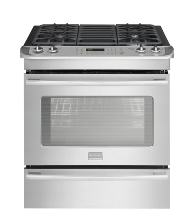 "Frigidaire Professional 30"" Stainless Steel Slide-In Dual..."