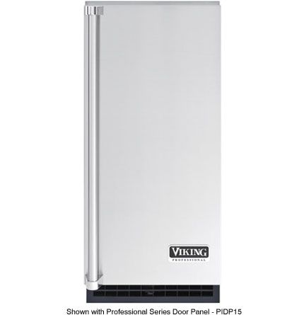 "Viking Commercial Viking 15"" Undercounter Freestanding Ice Maker With Drain Pump"