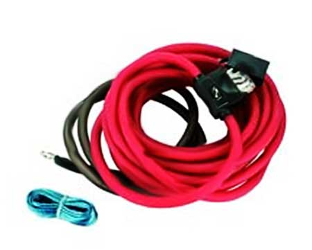 Connection 4-Gauge Power Amplifier Installation Kit