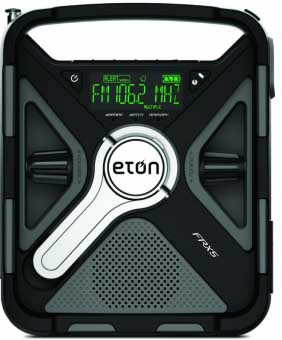 Eton Black Quad Power Rugged Smartphone Charging Weather ...