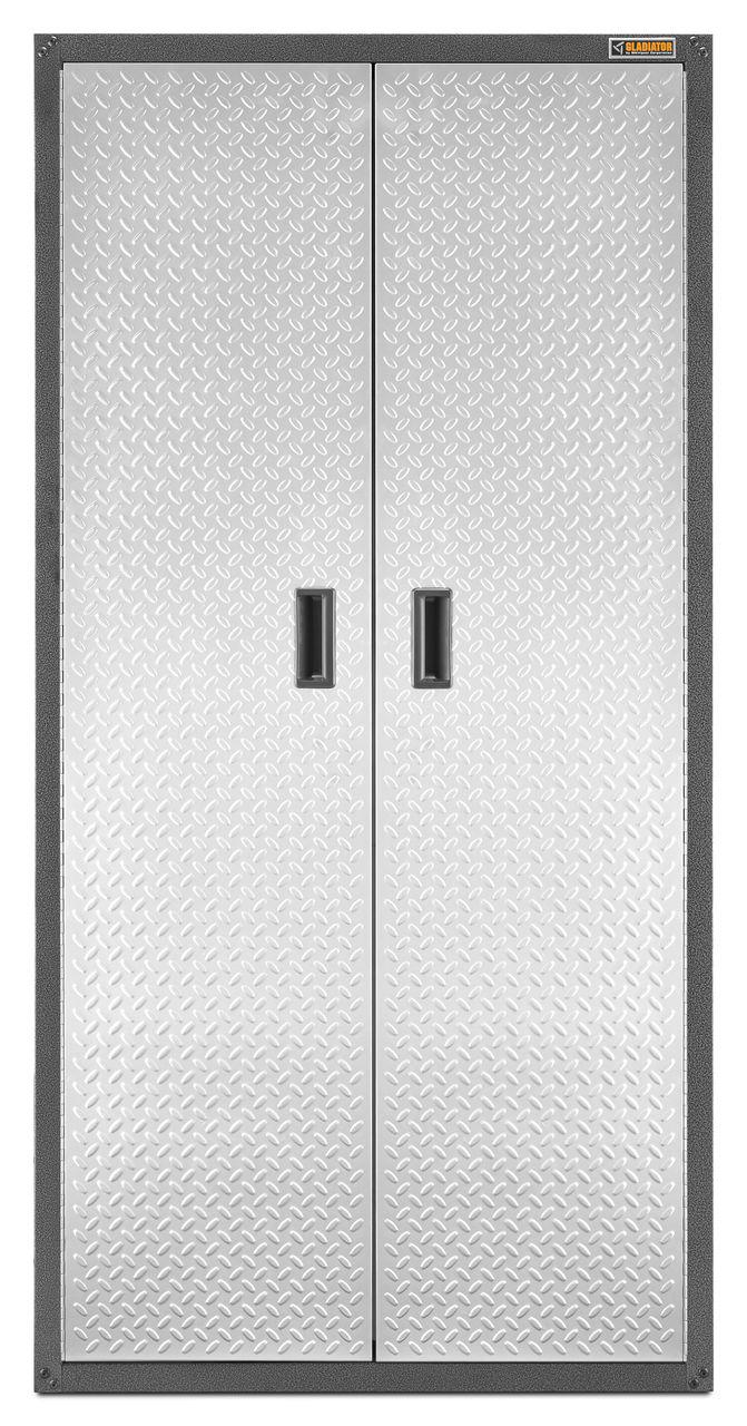 GLADIATOR All Seasons Gear Closet Storage Cabinet, Grey