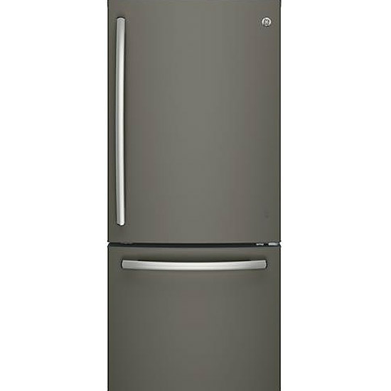 GE Slate Bottom Freezer Refrigerator