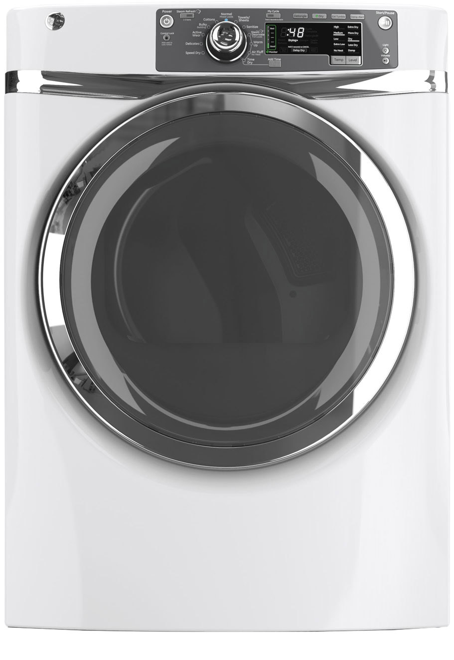 GE 8.3 Cu. Ft. Electric Dryer - White