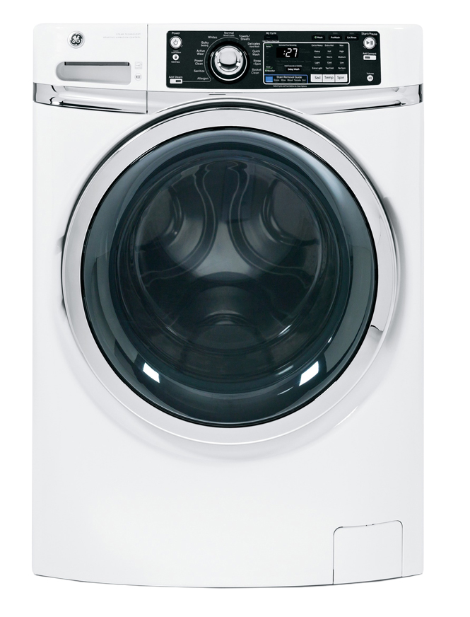 GE White Front Load Washer