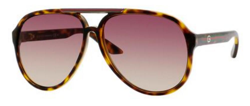 Gucci Havana Aviator Unisex Sunglasses