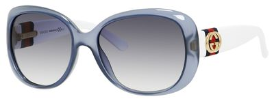 Gucci Azure Oversize Womens Sunglasses