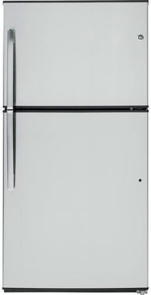 GE Stainless Steel Top Freezer Refrigerator