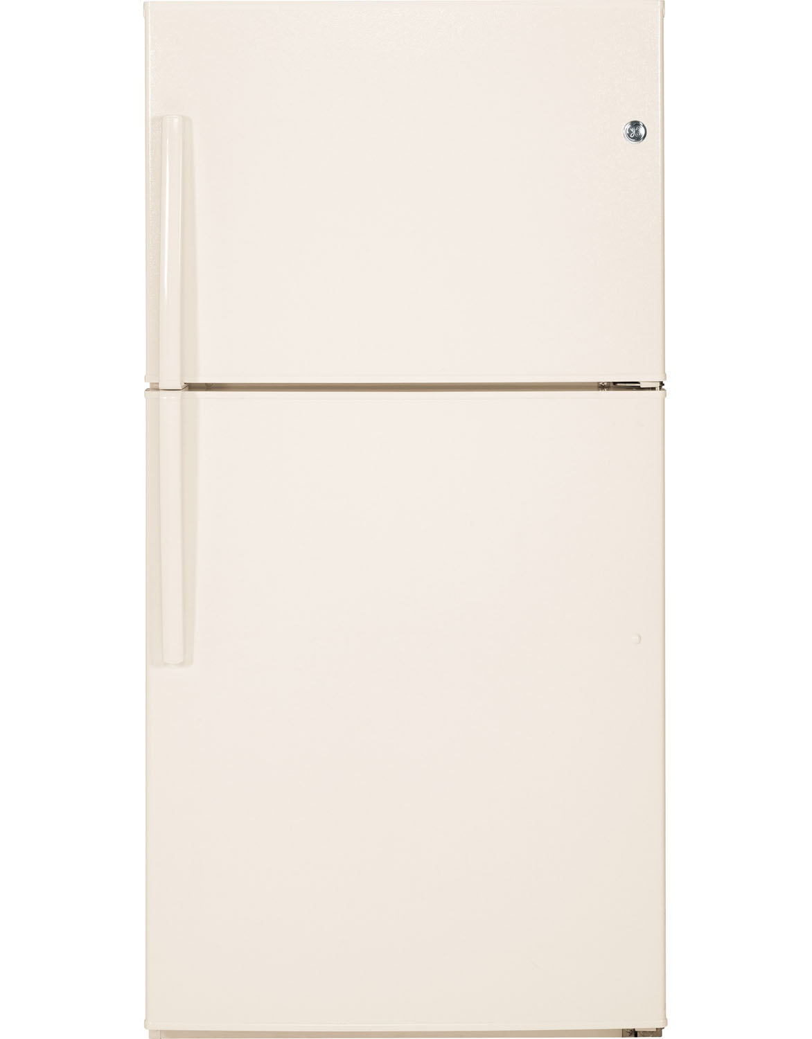 GE Bisque Top Freezer Refrigerator